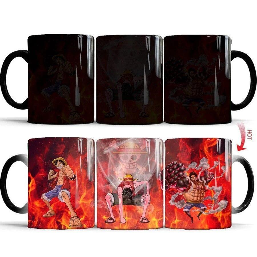 Mug Thermosensible One Piece <br> Monkey D. Luffy - Super Héros Store