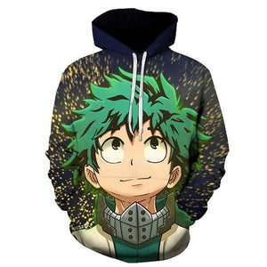 Sweat My Hero Academia<br> Izuku Midoriya - Super Héros Store