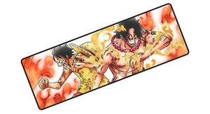 Tapis de Souris One Piece<br> Ace et Luffy - Super Héros Store