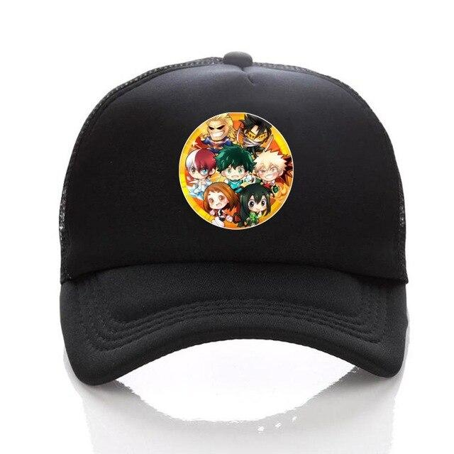 Casquette My Hero Academia<br> Fan Art - Super Héros Store