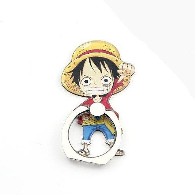 Anneau de Support One Piece <br> Capitaine Luffy - Super Héros Store