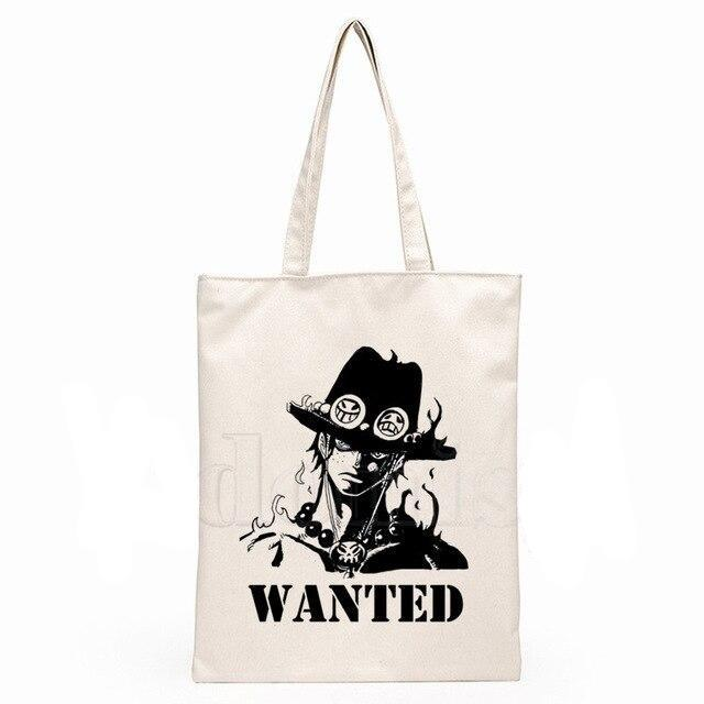 Sac Cabas One Piece <br> Ace Wanted - Super Héros Store