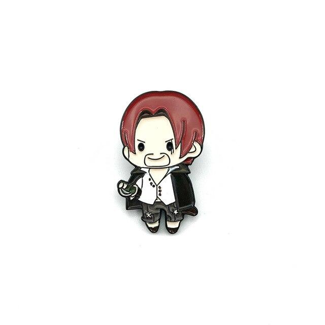 Pin's One Piece <br> Shanks le Roux - Super Héros Store