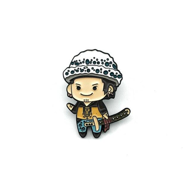 Pin's One Piece <br> Traffy Chibi - Super Héros Store