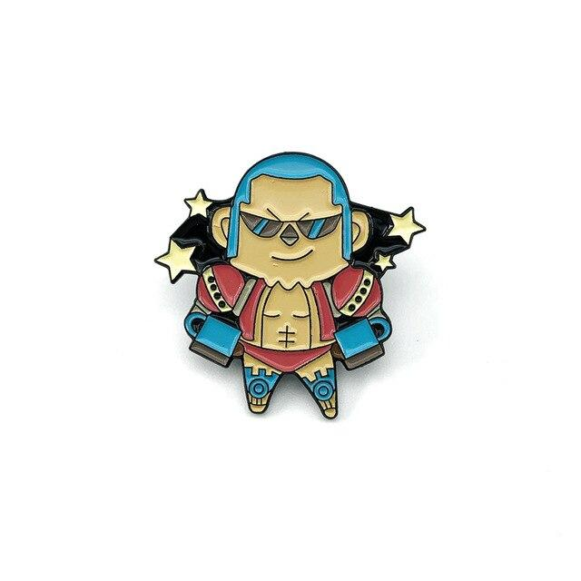 Pin's One Piece <br> Franky - Super Héros Store