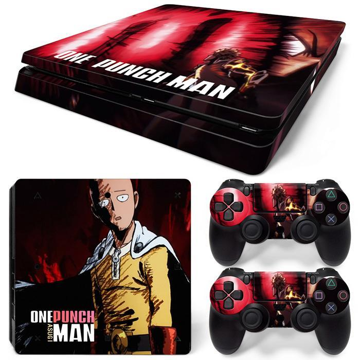 Sticker PS4 One Punch Man - Super Héros Store