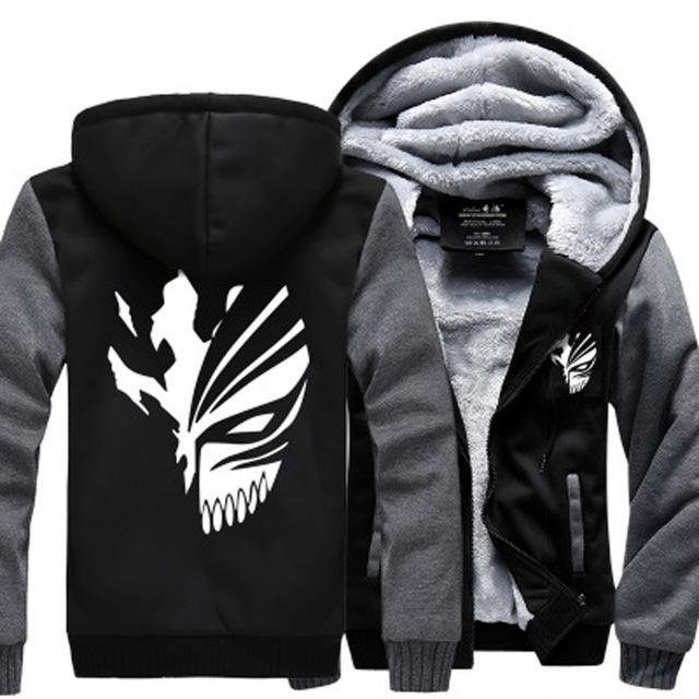 Veste Bleach<br> Masque Hollow d'Ichigo (gris) - Super Héros Store