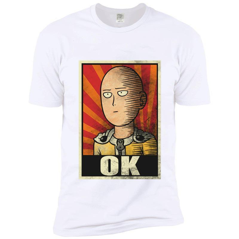 T-Shirt One Punch Man<br> OK - Super Héros Store