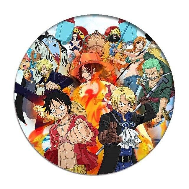 Pin's One Piece <br> Pirates - Super Héros Store