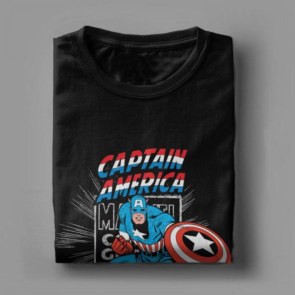 T-shirt Marvel </br>Captain America Comics - Super Héros Store
