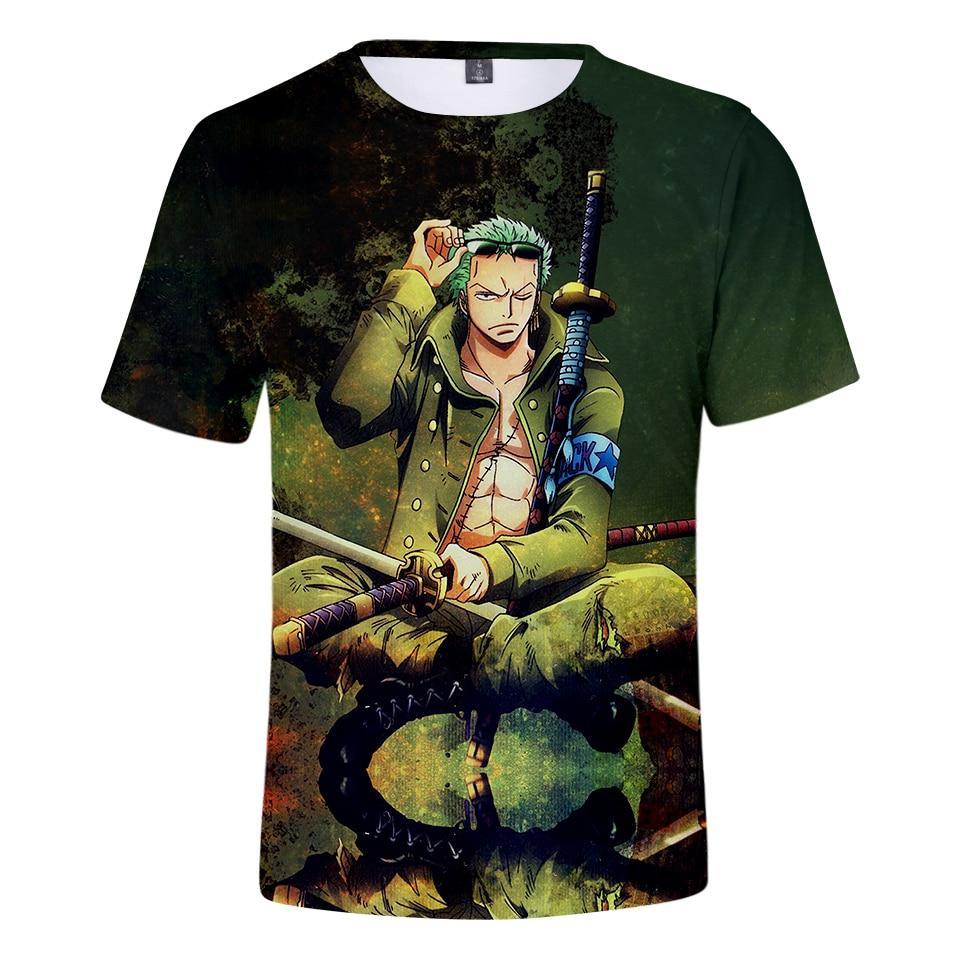 T-Shirt One Piece<br> Roronoa Zoro - Super Héros Store