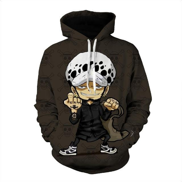 Sweat One Piece<br> Mini Trafalgar D. Water Law - Super Héros Store