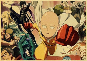 Poster One Punch Man<br> Niveau S - Super Héros Store