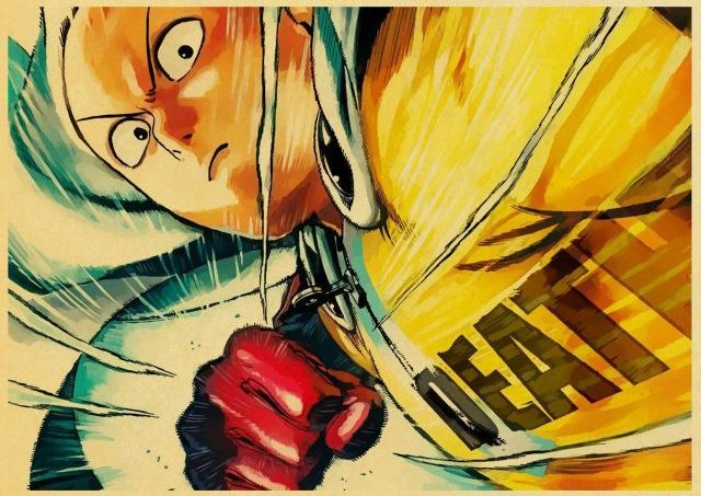 Poster One Punch Man<br> Saitama Death - Super Héros Store