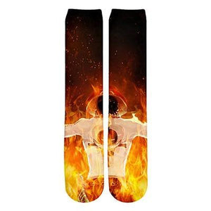 Chaussettes One Piece<br /> Portgas D. Ace - Super Héros Store