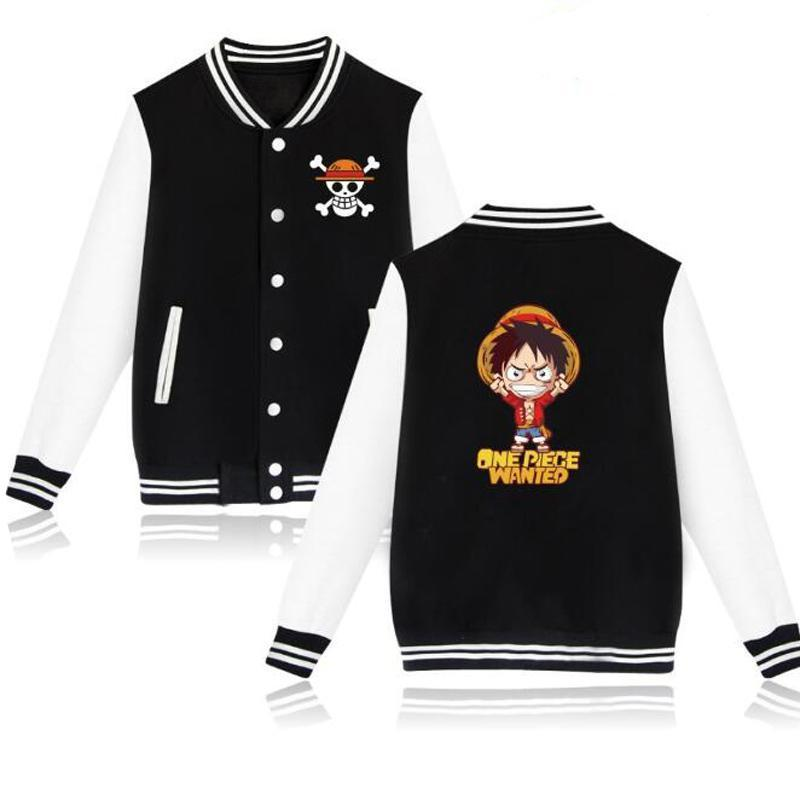 Veste Teddy One Piece<br> Luffy Wanted - Super Héros Store
