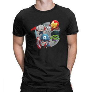T-shirt Marvel </br>Super-héros Mini - Super Héros Store