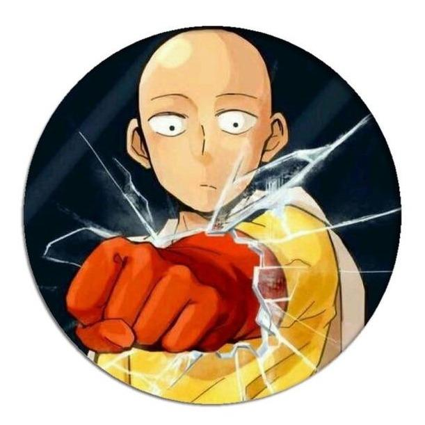 Pin's One Punch Man<br> Saitama Poing - Super Héros Store