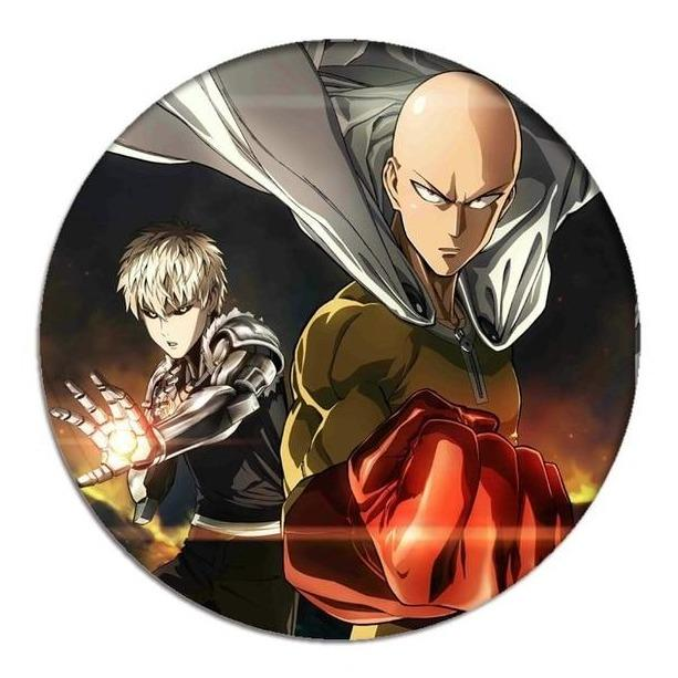 Pin's One Punch Man<br> Saitama Génos Héros - Super Héros Store