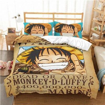 Housse de Couette One Piece<br> Prime Luffy - Super Héros Store