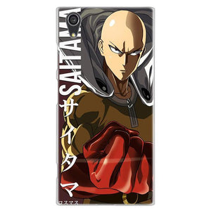 Coque One Punch Man Sony<br> Saitama Anecdote - Super Héros Store
