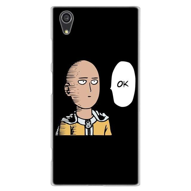 Coque One Punch Man Sony<br> Mème ok - Super Héros Store