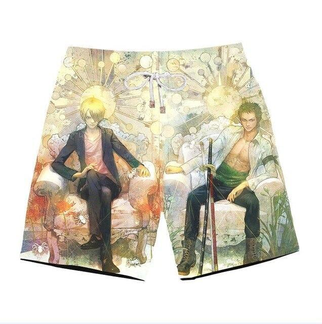 Short One Piece<br> Sanji et Zoro - Super Héros Store