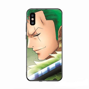 Coque One Piece iPhone<br> Zoro Cicatrices - Super Héros Store