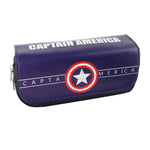 Trousse scolaire originale <br/>Captain America Double - Super Héros Store