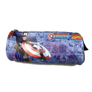 Trousse scolaire originale <br/>Marvel Captain America - Super Héros Store