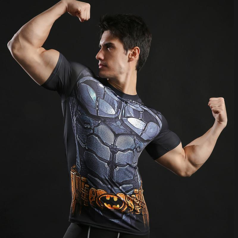 T-Shirt Musculation <br />Batman Dark Knight - Super Héros Store