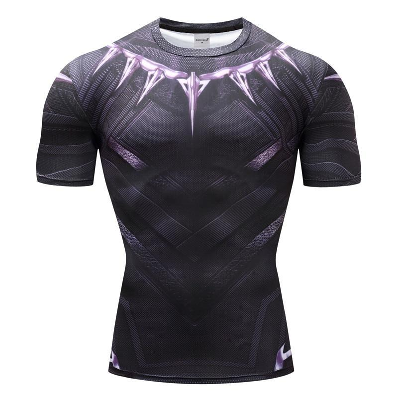 T-Shirt Musculation <br />Black Panther - Super Héros Store
