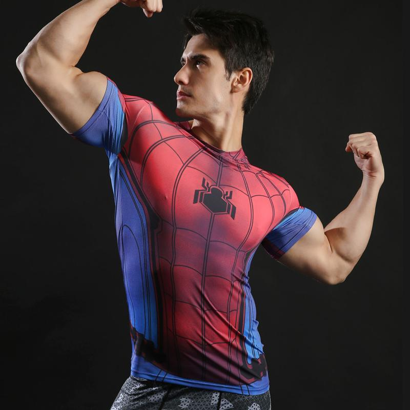 T-Shirt Musculation <br />Spider-Man Homecoming - Super Héros Store