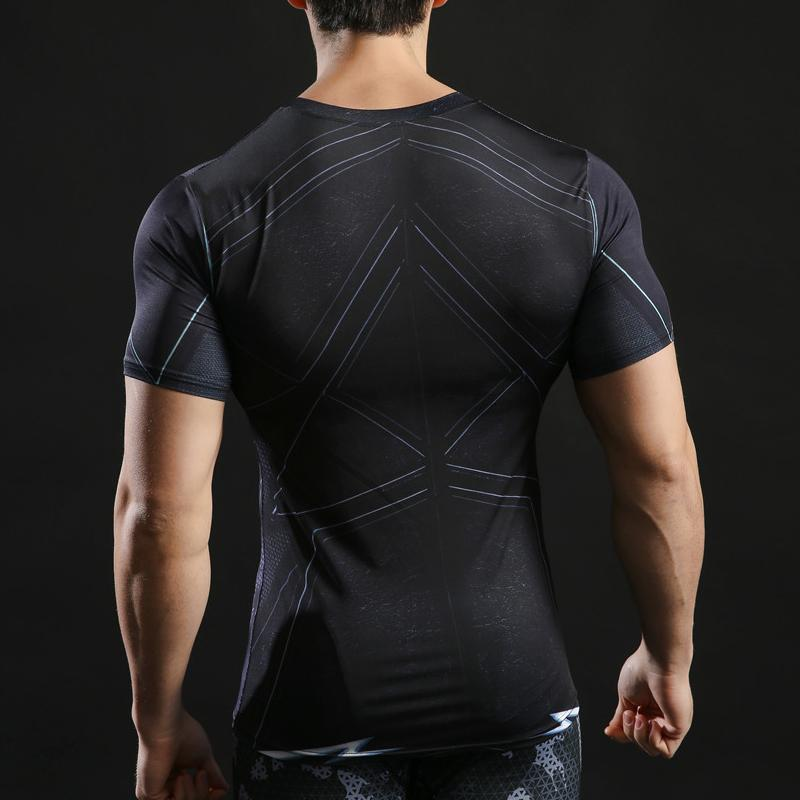 T-Shirt Musculation <br />The Flash Noir - Super Héros Store
