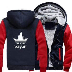 Veste Dragon Ball Z <br/>Polaire Vegeta Adidas - Super Héros Store