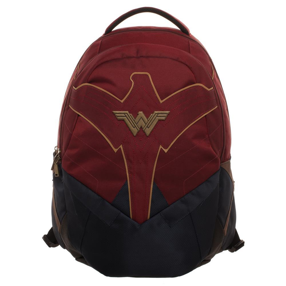 DC Comics Wonder Woman Laptop Pocket Reflective Trim Backpack