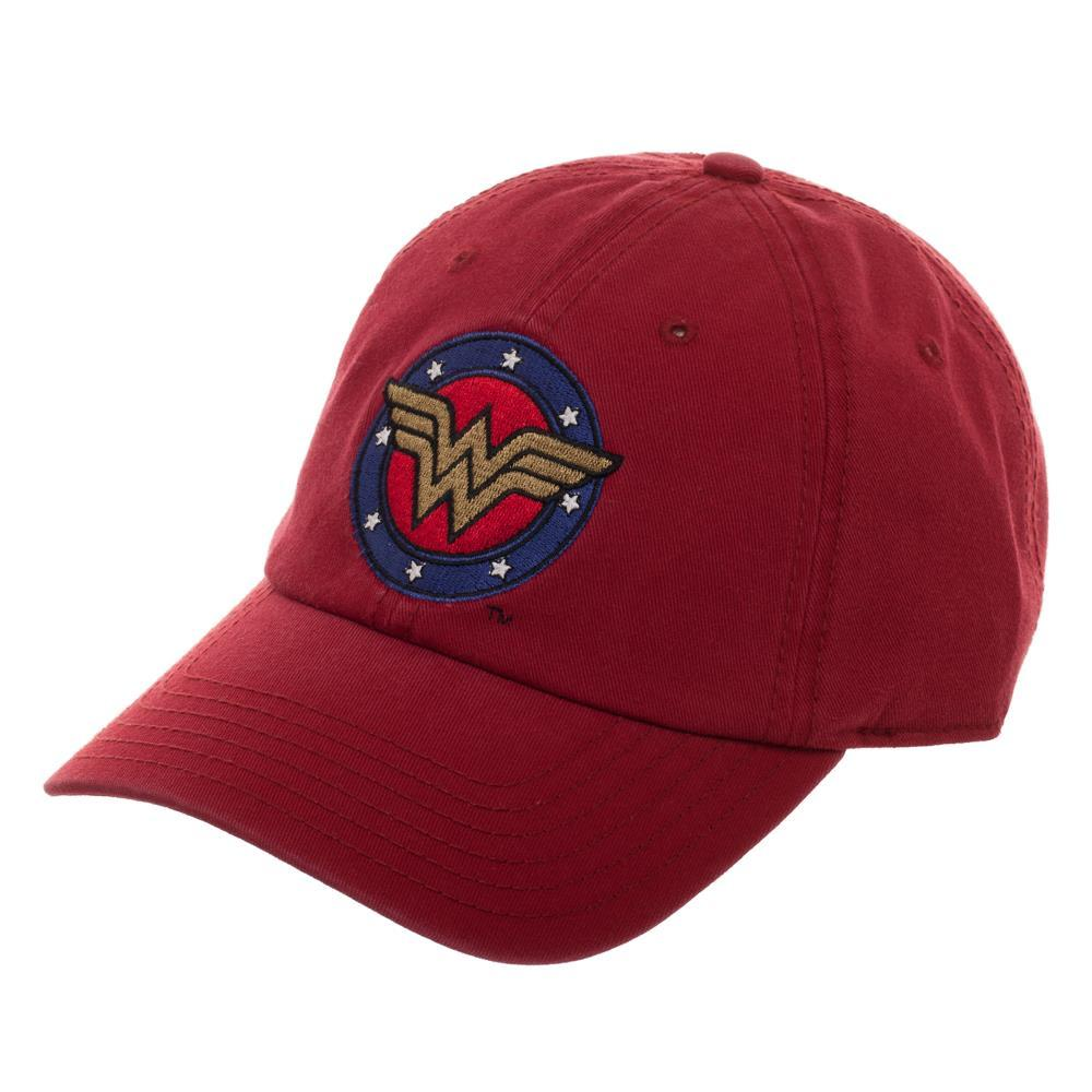 DC Comics Wonder Women Red with Logo Hat