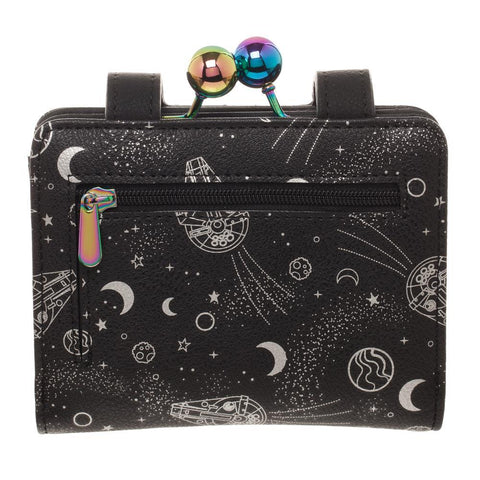 Star Wars Universe All Over Print Space Spacecraft Wallet