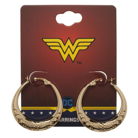 DC Comics Wonder Woman Superhero Earrings