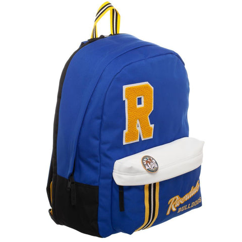 Riverdale Backpack Blue and Yellow Backpack