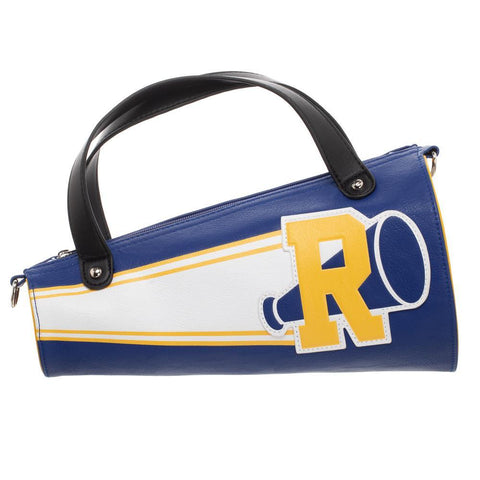 RIverdale Blue and Yellow Megaphone Cheer Handbag