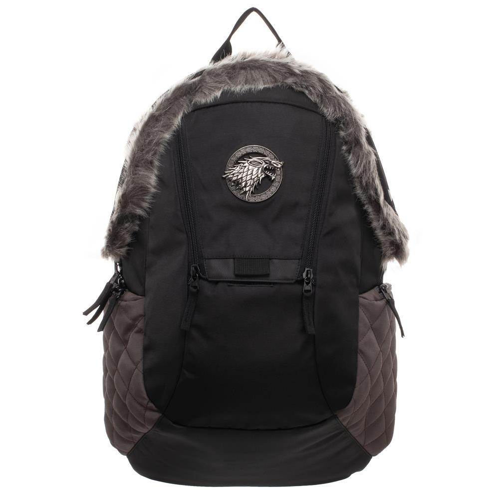 Game Of Thrones Faux Fur Stark Inspired Backpack