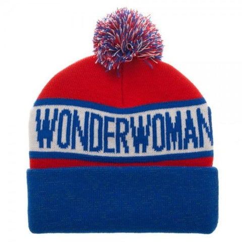 DC Comics Wonder Woman Reflective Cuff Beanie