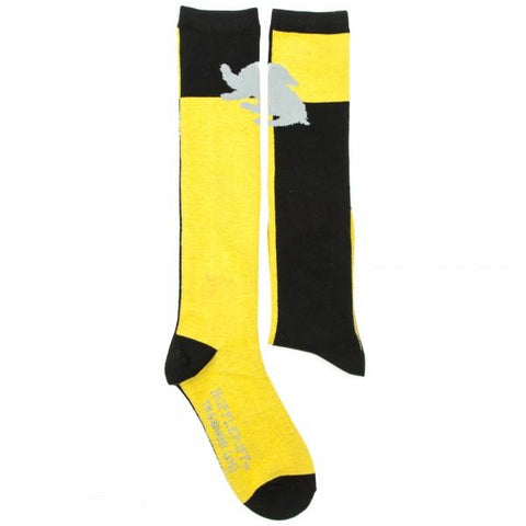 Harry Potter Hufflepuff Hogwarts Knee High Socks
