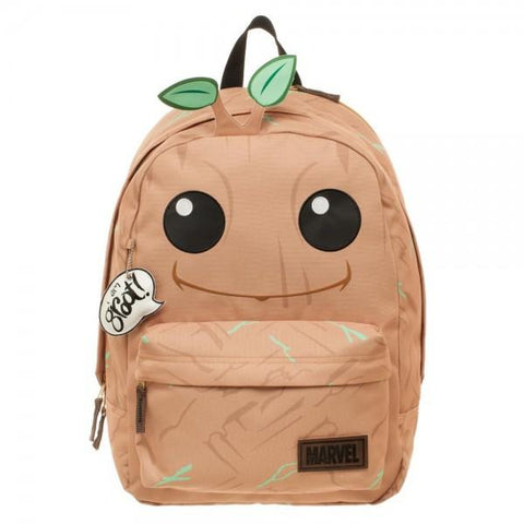 Marvel Comics Guardians of the Galaxy Groot Big Face Backpack