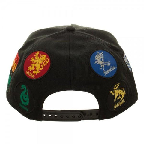 Harry Potter Hogwarts House Quidditch World Cup Black Hat