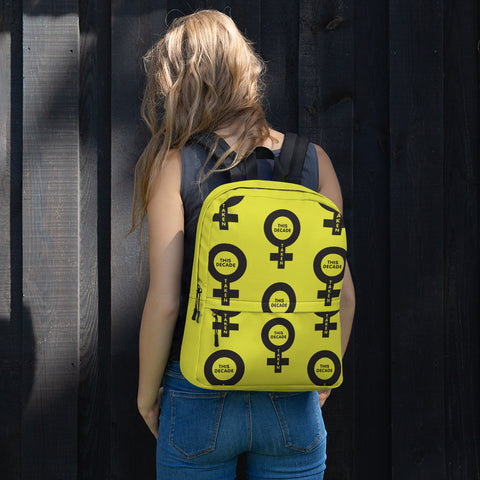 Backpack FOR HER - Taken This Decade (Yellow)