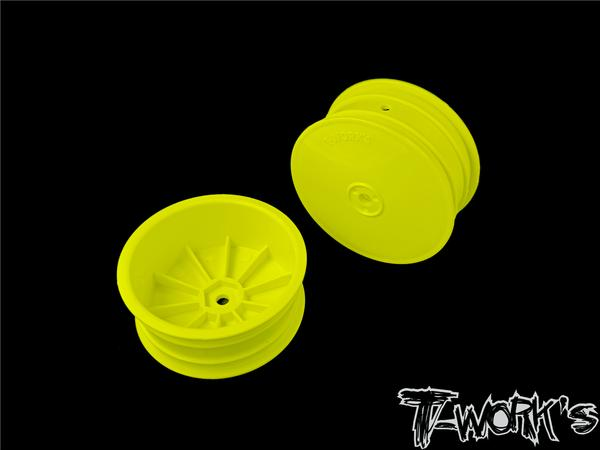 T-Works 12mm Hex 4WD Front Wheels ( For B64/B74/YZ4-SF )