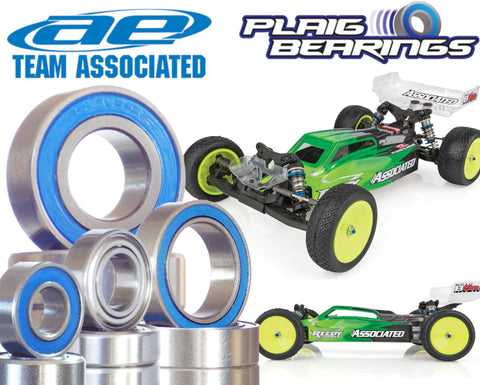 Team Associated RC10B6.2 / B6.2D V2 Premium Wheel Bearings