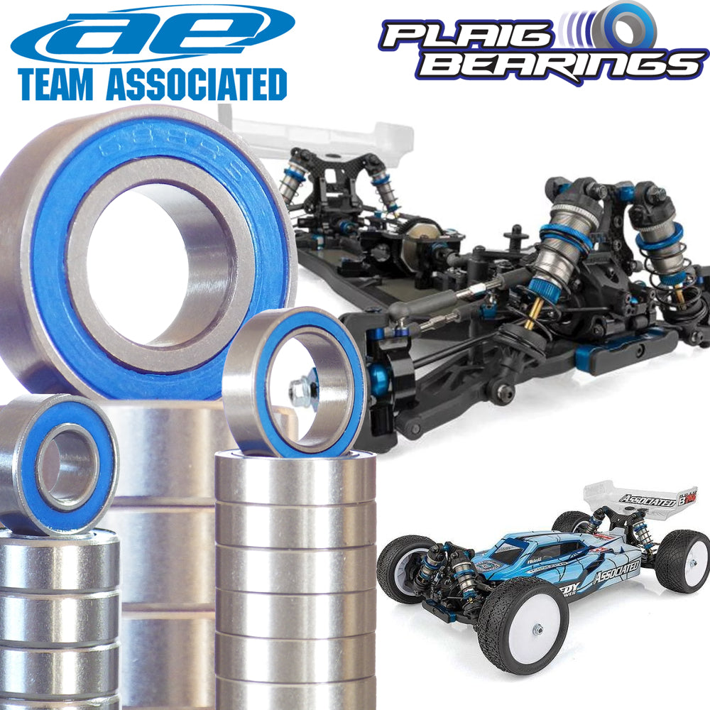 Team Associated RC10B74 Bearing Kit Complete V2 Premium Bearings